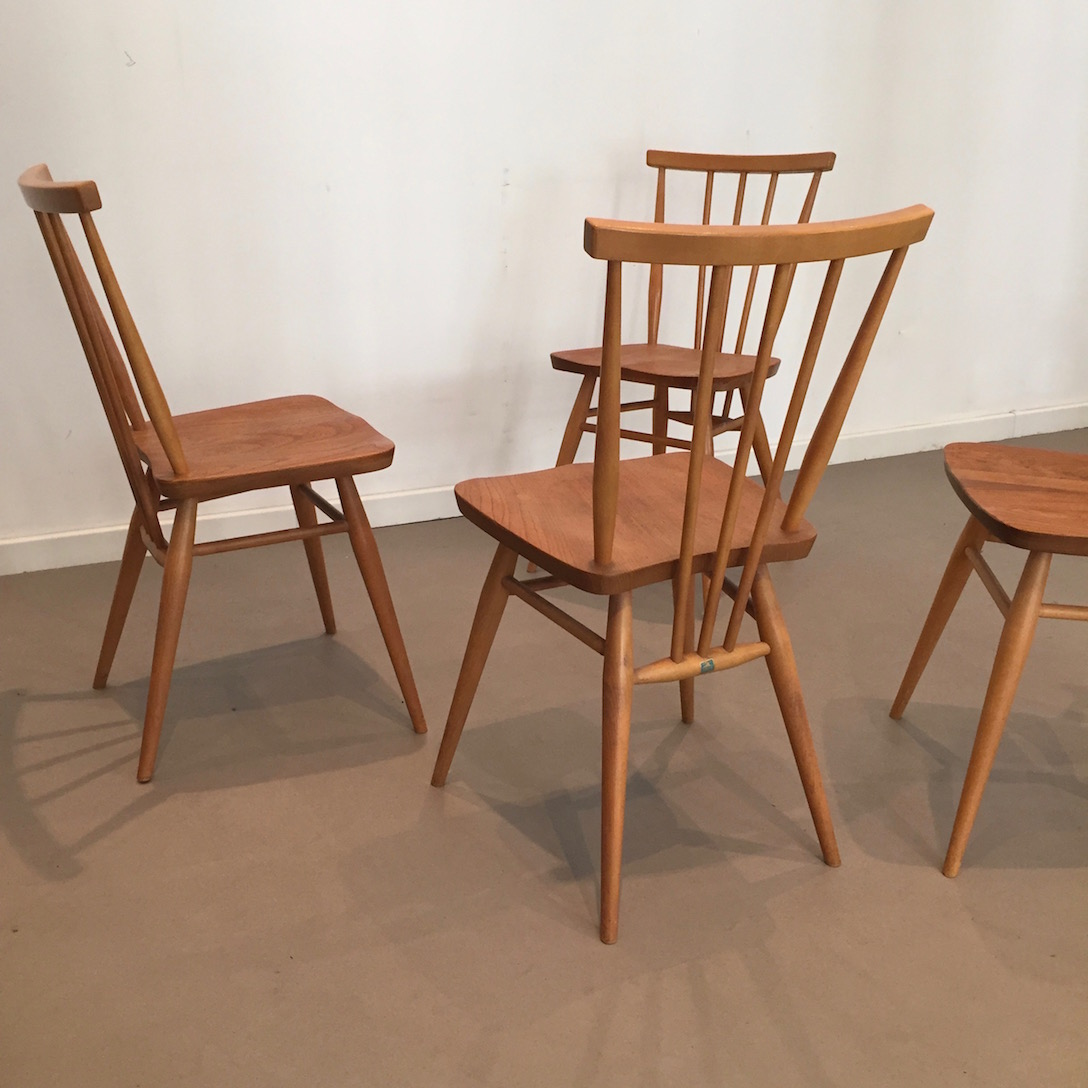 chaises ercol vintage style scandinave